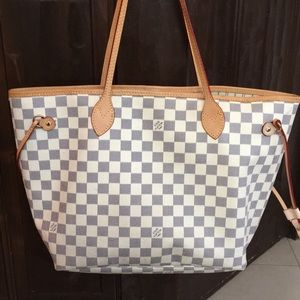 NOT AUTHENTIC!!!! Louis Vuitton Neverfull Dupe